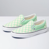 VANS Classic Slip On Checkerboard - PEPPERMINT