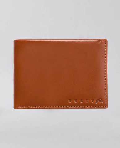 Rusty Ground 2 Leather Wallet DARK TAN