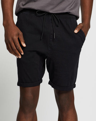 RUSTY Hooked On Elastic Short - BLACK