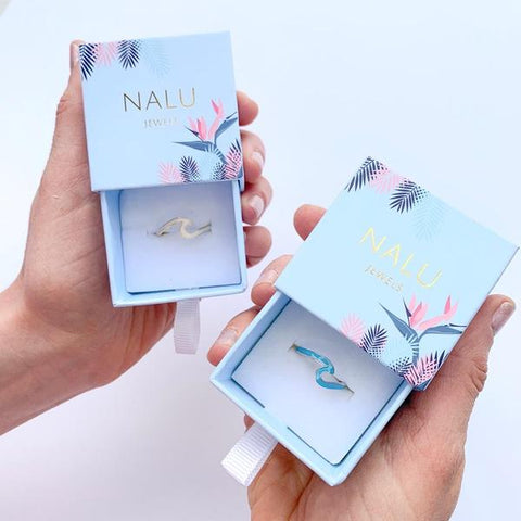 Nalu Jewels -Limited Ed Wave Ring