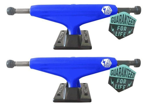 "Industrial Trucks 5.25"" BLUE BLACK"