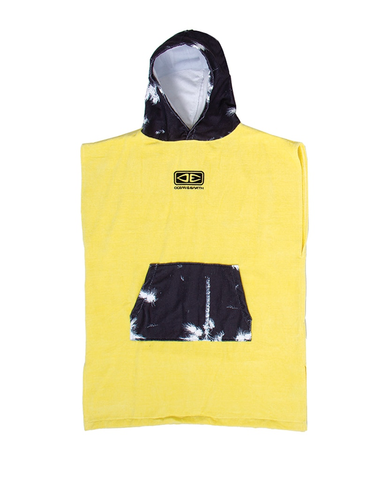 O&E Youth Hooded Poncho - YELLOW