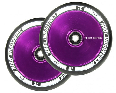 Root Industries Air 120mm Scooter Wheels Assorted BLACK PU 230gms