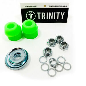 Trinity Axle Pack - Nuts, Washers, Bushing washers