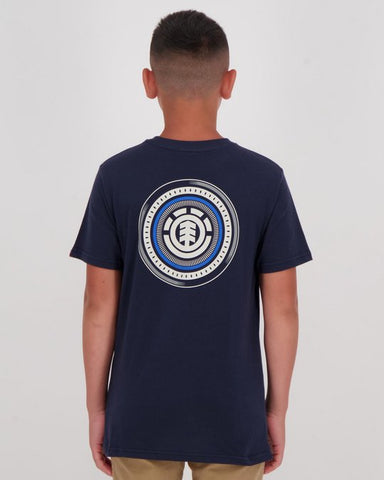 ELEMENT Youth Hatch Tee ECLIPSE NAVY