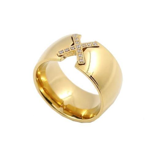 "Bague ""CROIX"" - Bague ""CROIX"" - Bague - LITTLEBIJOUXPARIS - LITTLEBIJOUXPARIS"