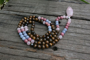 Collier  MALA ZEN Pierres Naturelles - Collier  MALA ZEN Pierres Naturelles - Collier - LITTLEBIJOUXPARIS - LITTLEBIJOUXPARIS