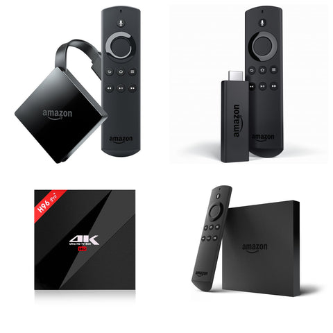 Jailbroken android tv box vs. Amazon fire tv