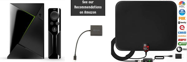 Jailbroken AMazon fire tv home page