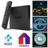 Amazon Fire Tv box Alexa Voice Second Gen Covenant Terrarium Tv Kodi Mobdro