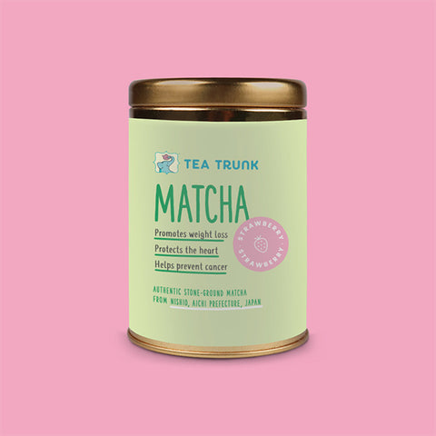 Berry Matcha Green Tea