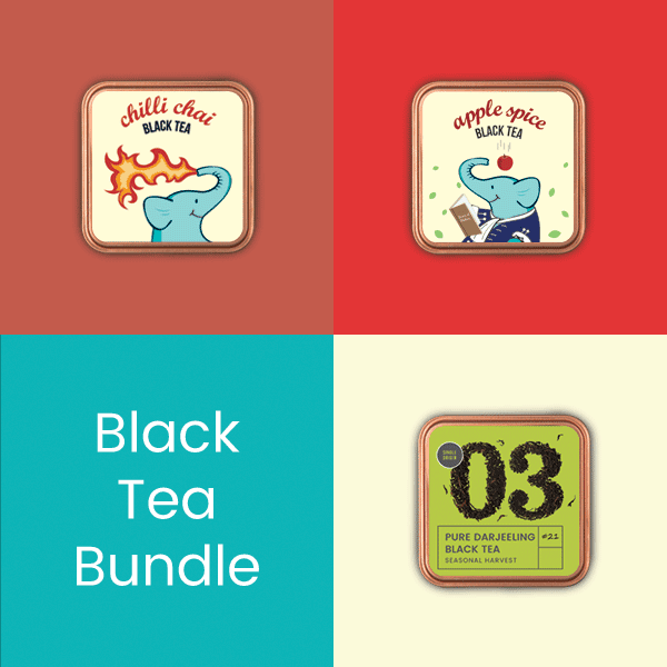 Black Tea Bundle - Tea Trunk