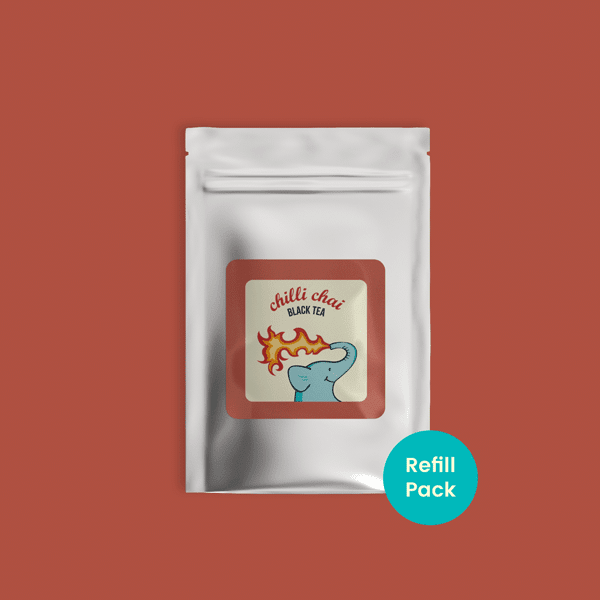 Chilli Chai Black Tea - Refill Pack - Tea Trunk