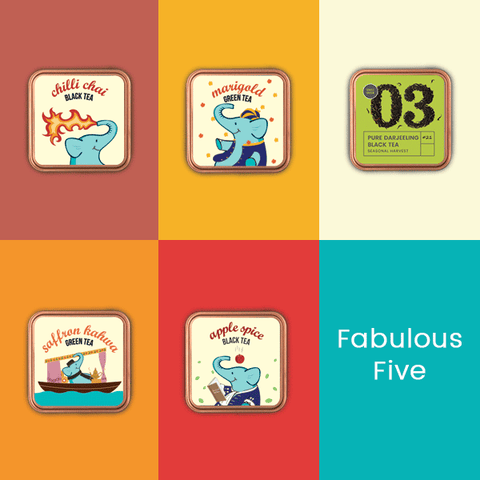 Fabulous Five - Tea Bundle