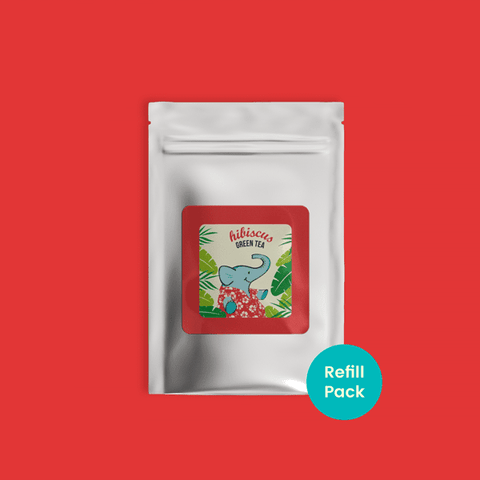 Hibiscus Green Tea - Refill Pack