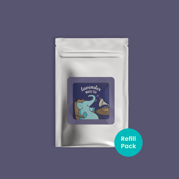 Lavender White Tea - Refill Pack - Tea Trunk