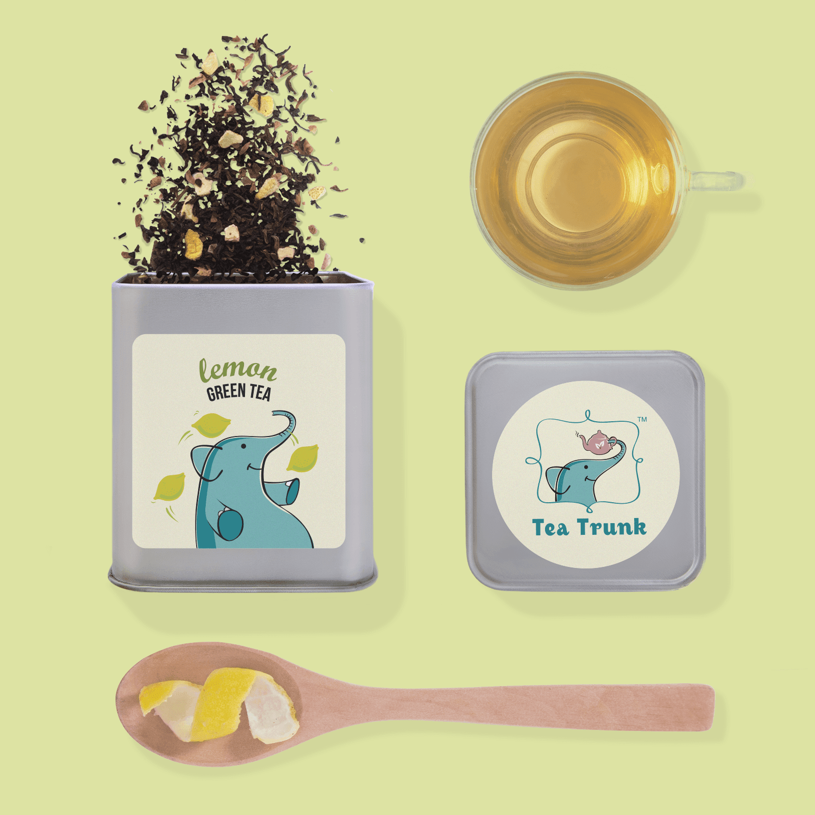 Lemon Green Tea - Tea Trunk