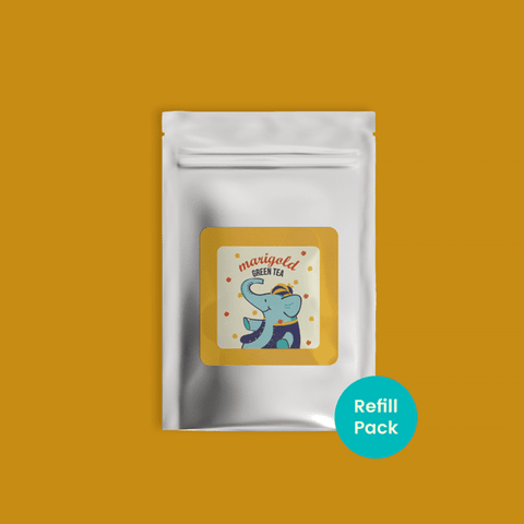 Marigold Green Tea - Refill pack