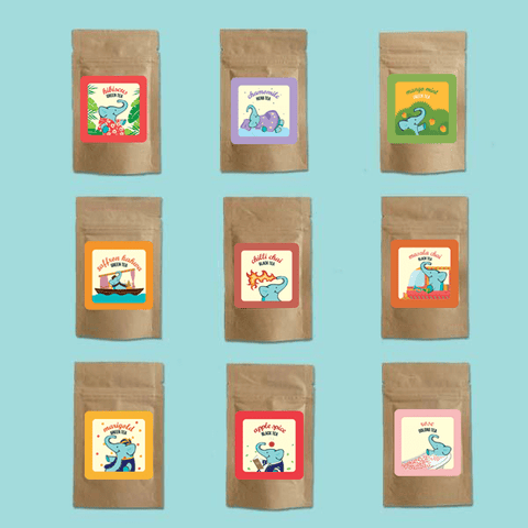 Nine Teas Samplers