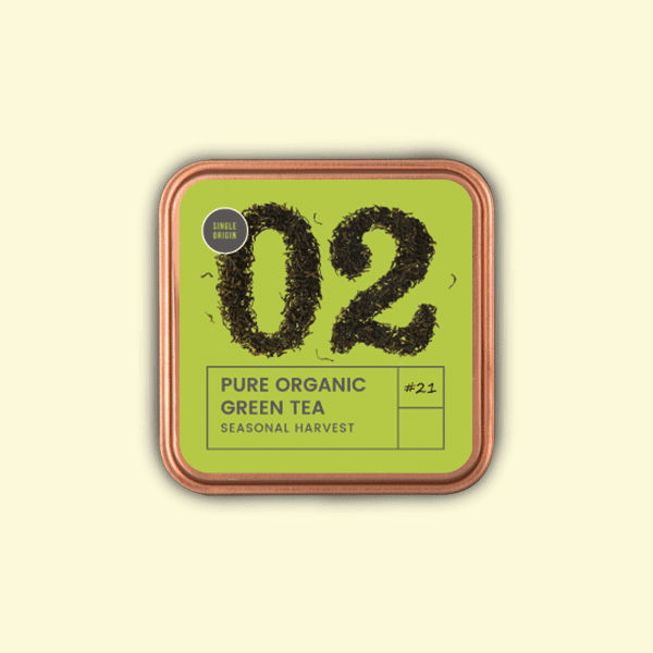 Pure Organic Green Tea - Tea Trunk
