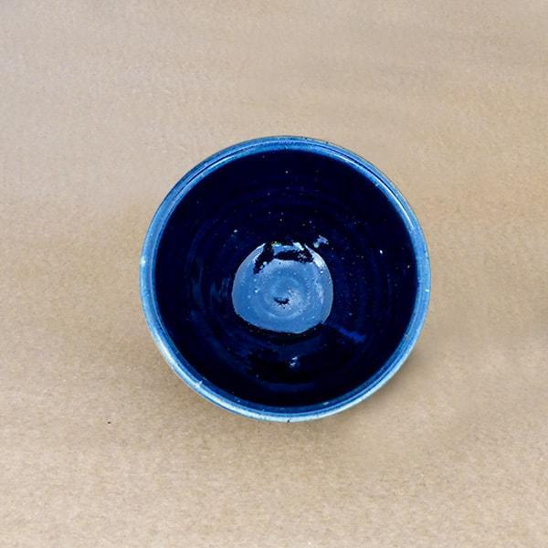 Matcha Ceramic Bowl -Sumiro Black - Tea Trunk