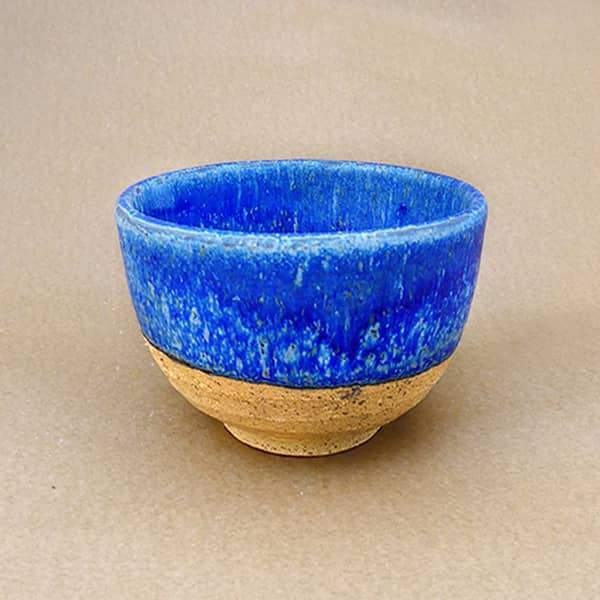 Matcha Ceramic Bowl -Koniro Blue - Tea Trunk