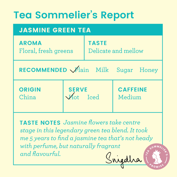 Jasmine Green Tea - Tea Trunk