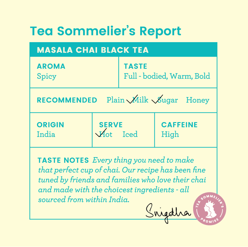 Masala Chai Black Tea - Tea Trunk