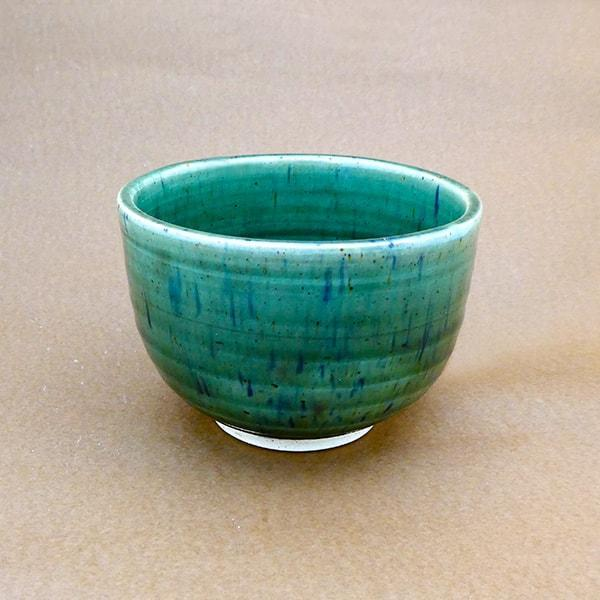 Matcha Ceramic Bowl -Midori Green - Tea Trunk