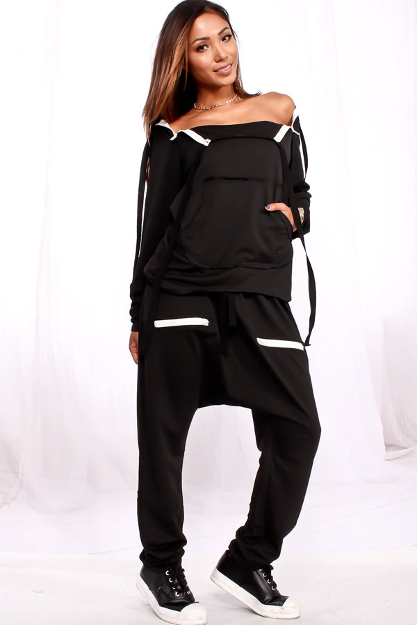 Ndulge Chill Harem Jogger Set - Ndulge In You