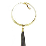 Ndulge Black Tassel Collar-Ndulge LLC-Ndulge In You