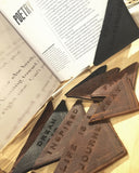 Ndulge Leather Bookmarks - Ndulge In You