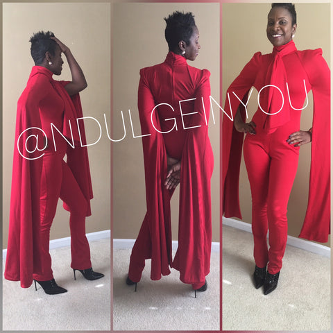Ndulge Adorn Red Dragon Jumper - Ndulge In You