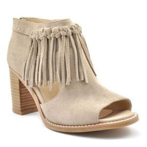 Ndulge Peep-Toe Booties - Ndulge In You