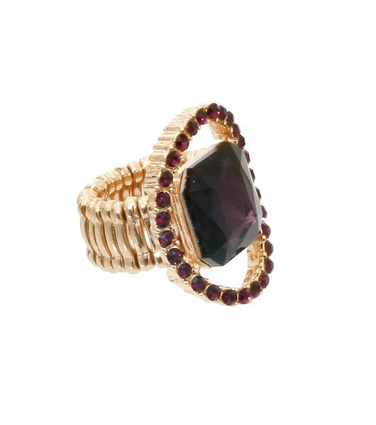 Ndulge Purple Centri Ring-Ndulge LLC-Ndulge In You