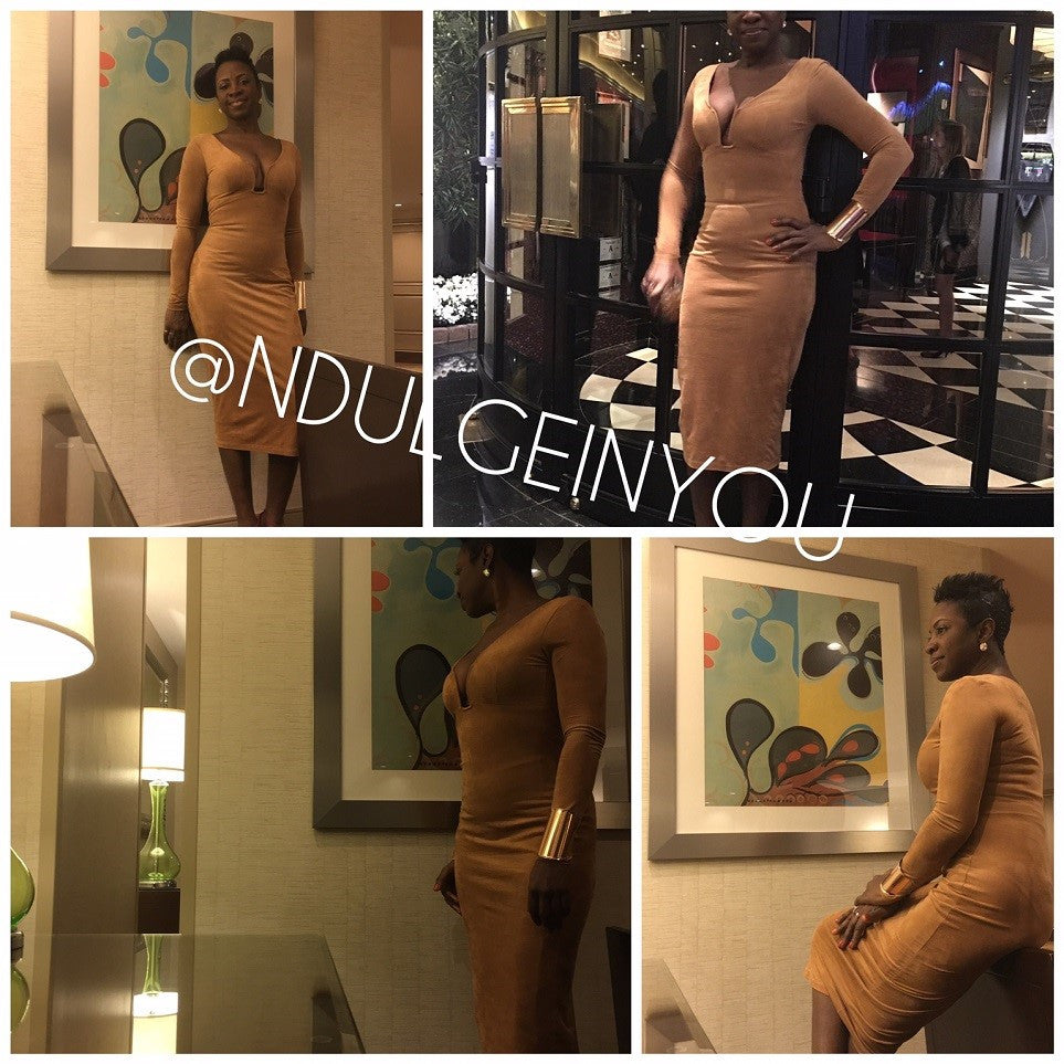Ndulge Vanity Body Con Dress (color options) - Ndulge In You