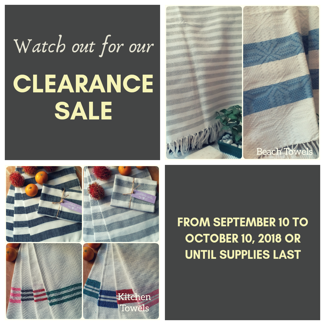 FIRST EVER CLEARANCE SALE!!!