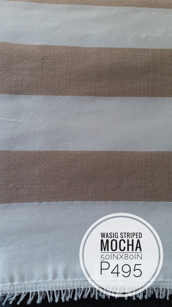 [SALE] Inabel Classic Striped Wasig Blanket (~50inx80in)