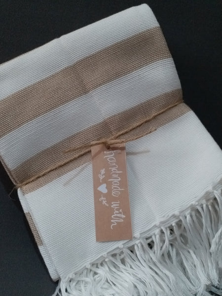 [SALE] Classic Striped Wasig Hand Towels (sold per set of 4 pcs)