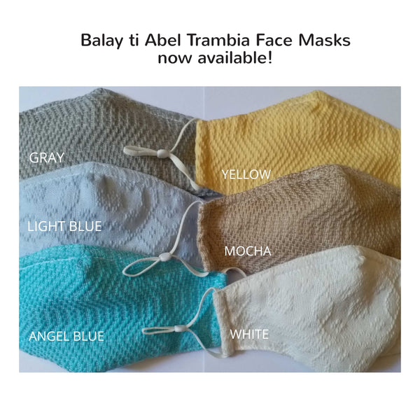 [Masks for a Cause] Inabel Cloth Face Masks