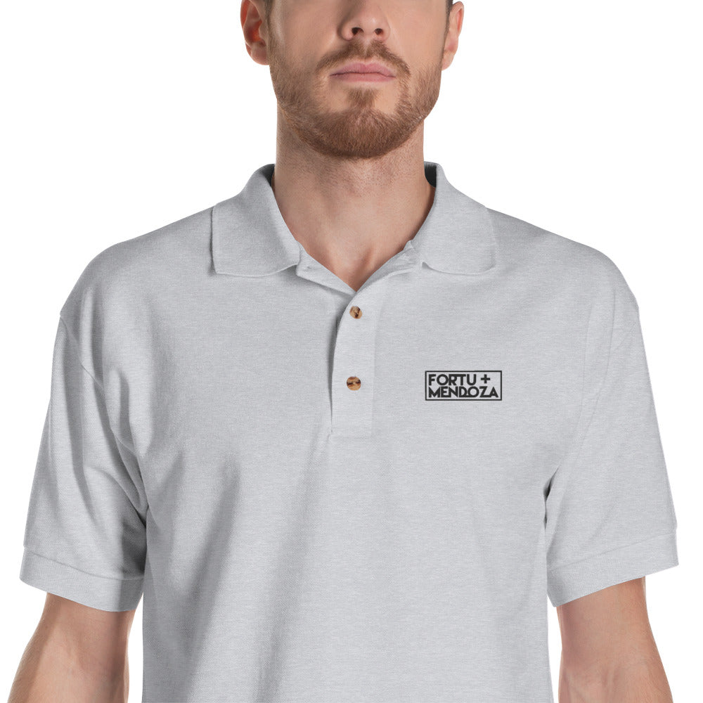 FORTU & MENDOZA - Embroidered Polo Shirt