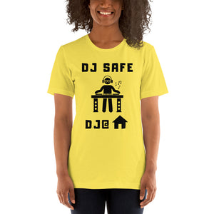 DJ SAFE @ HOME - Short-Sleeve Unisex T-Shirt