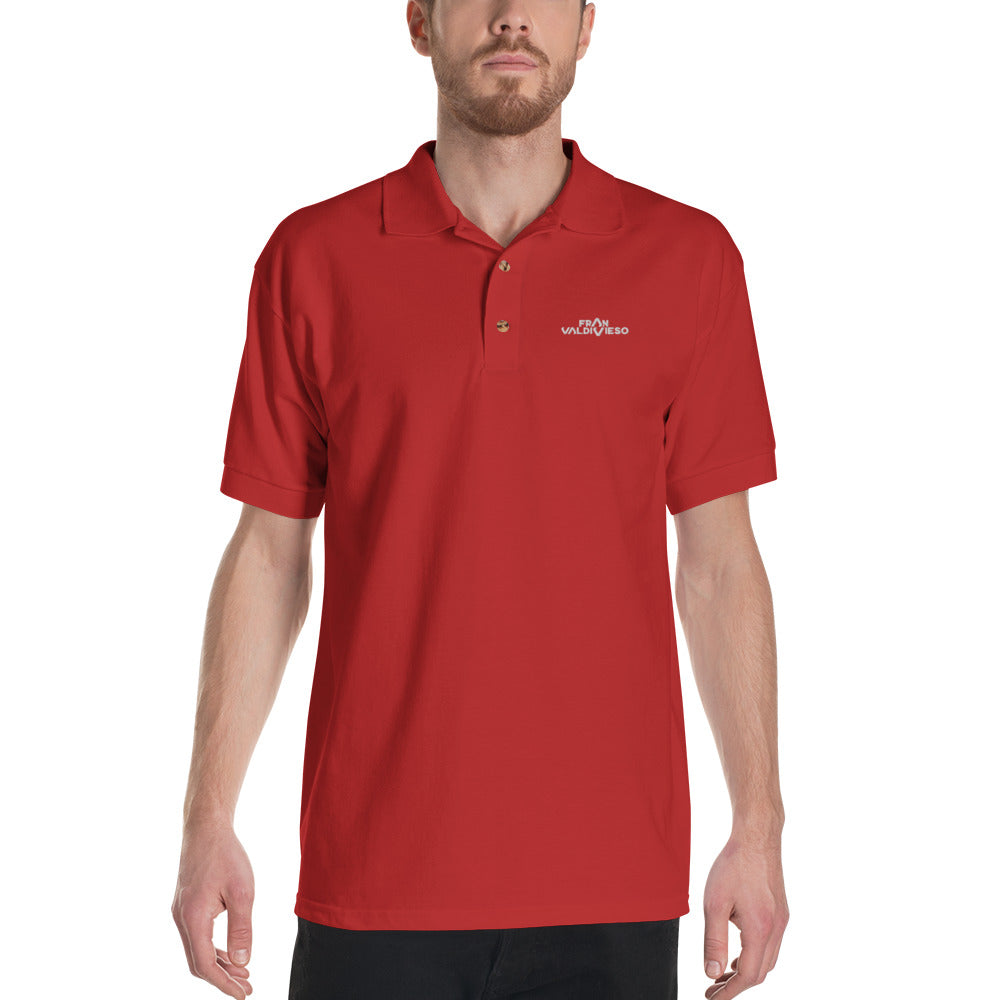 FRAN VALDIVIESO - Embroidered Polo Shirt