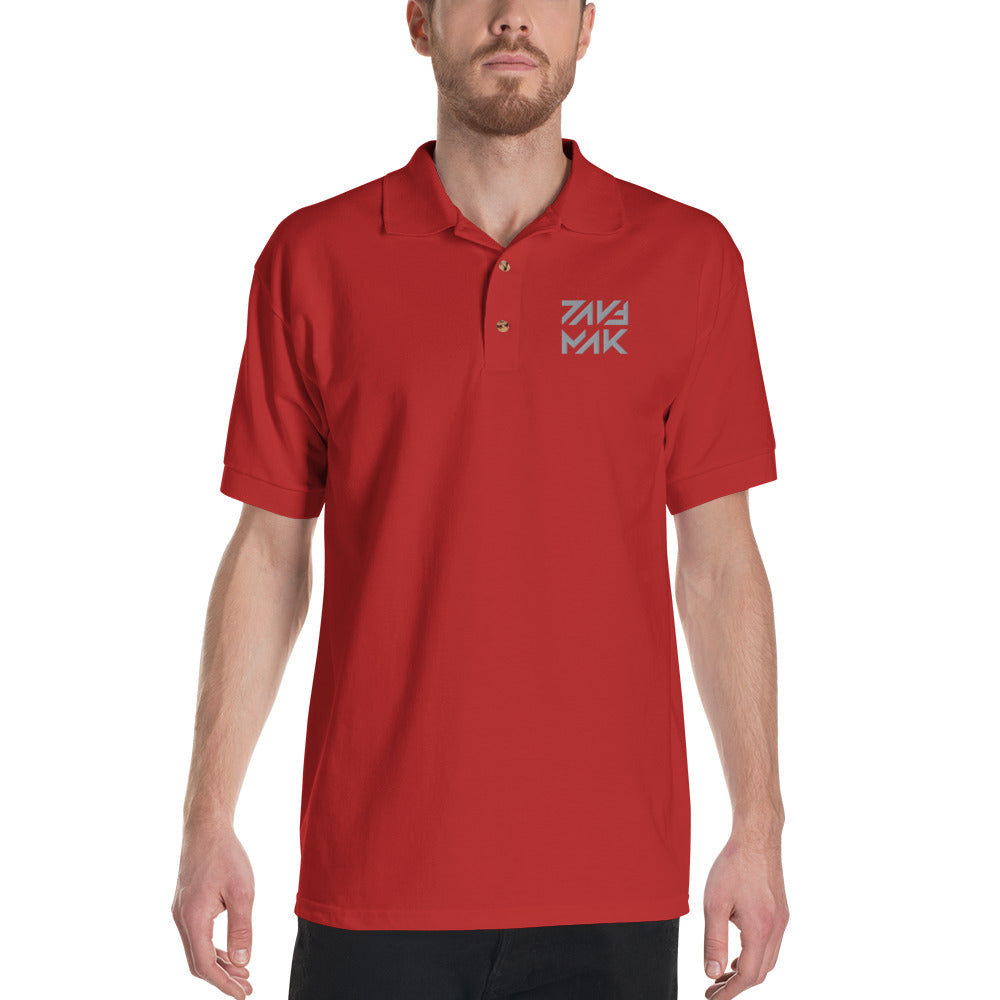 DAVE MAK - Embroidered Polo Shirt