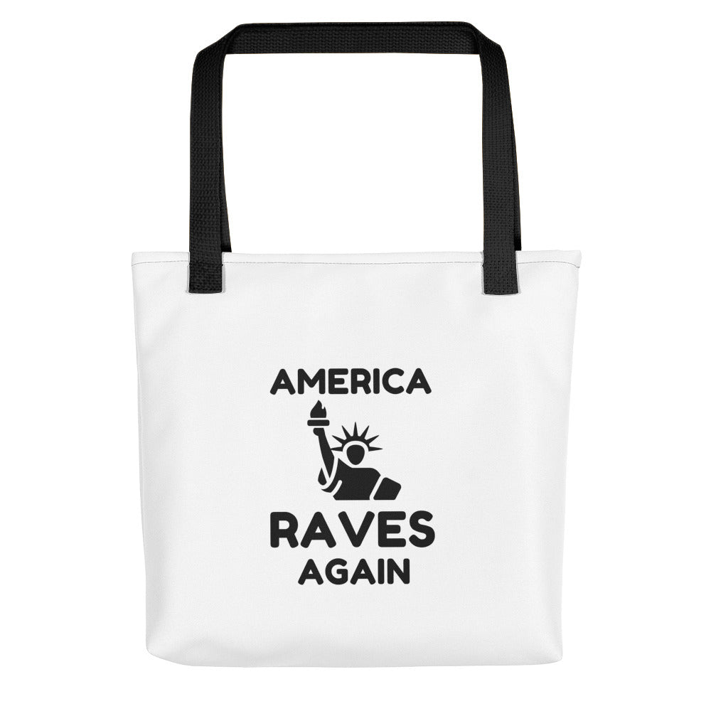 """AMERICA RAVES AGAIN"" - Tote bag"