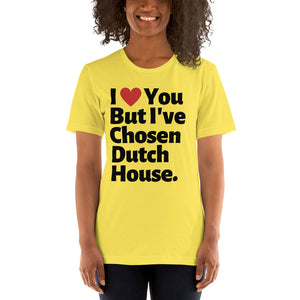 CHOSEN DUTCH HOUSE - Short-Sleeve Unisex T-Shirt