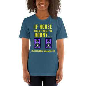 BETTER SPEAKERS - Short-Sleeve Unisex T-Shirt