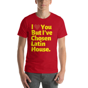 CHOSEN LATIN HOUSE - Short-Sleeve Unisex T-Shirt