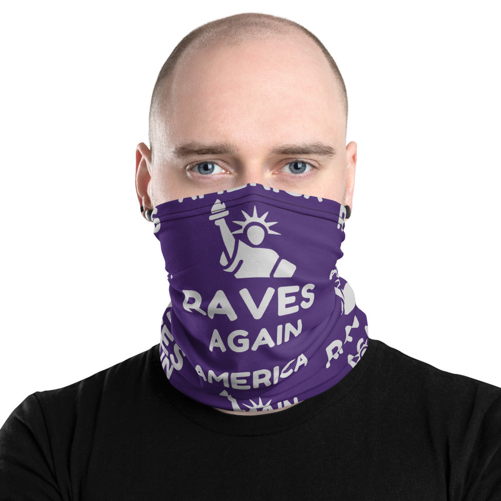 AMERICA RAVES AGAIN - Neck Gaiter