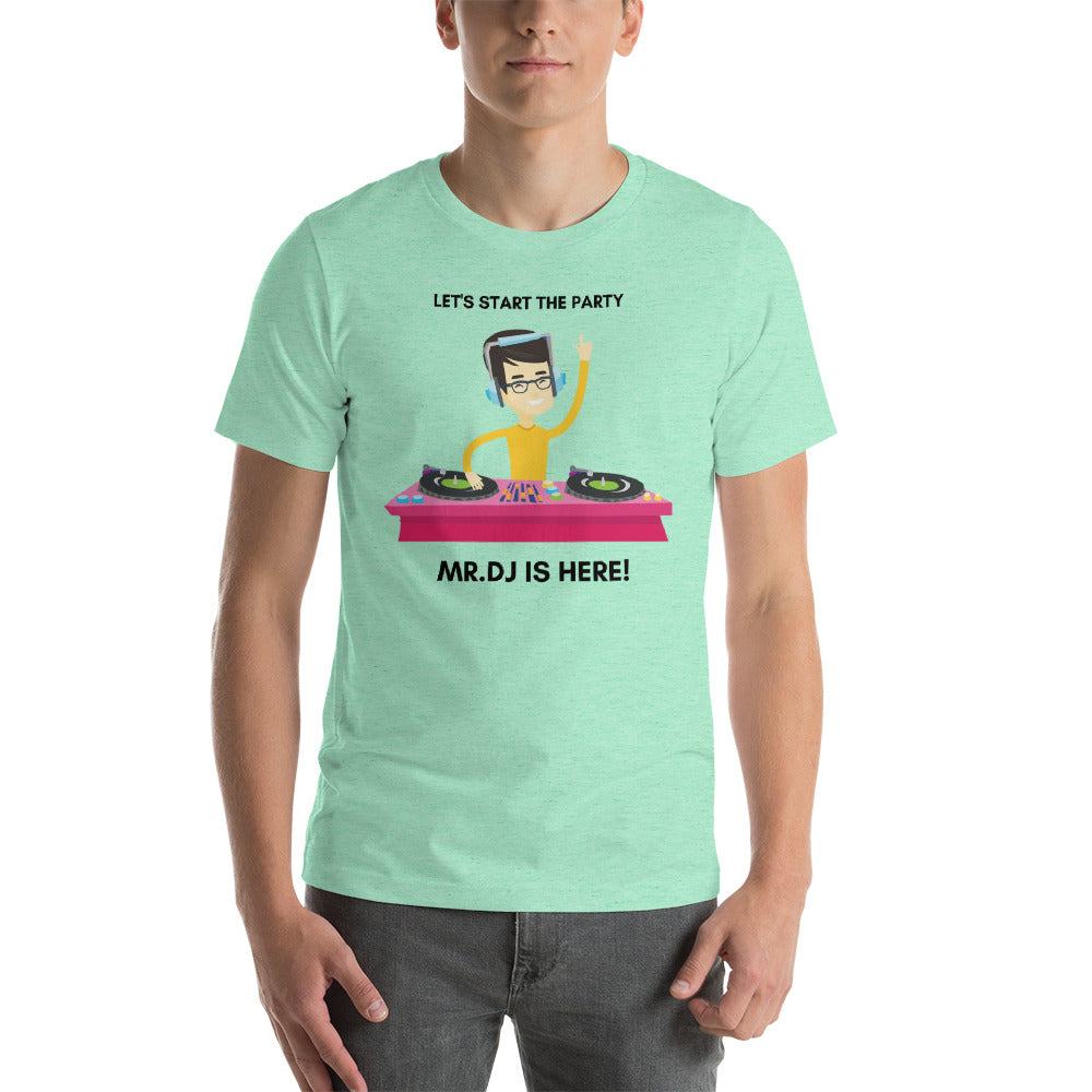 """LET'S START THE PARTY"" - V2 - Short-Sleeve Unisex T-Shirt"